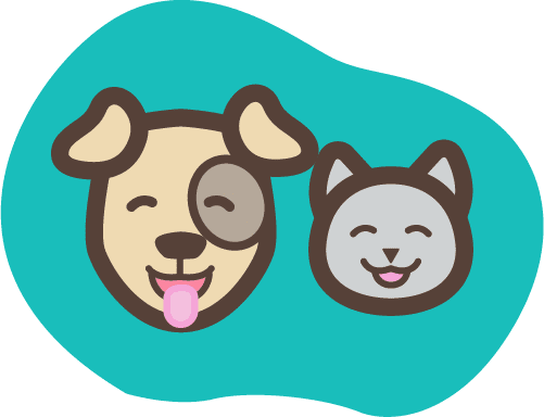 Prudent Pet dog and cat icon smiling