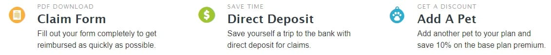 Prudent Pet easy claim, deposit and add a pet