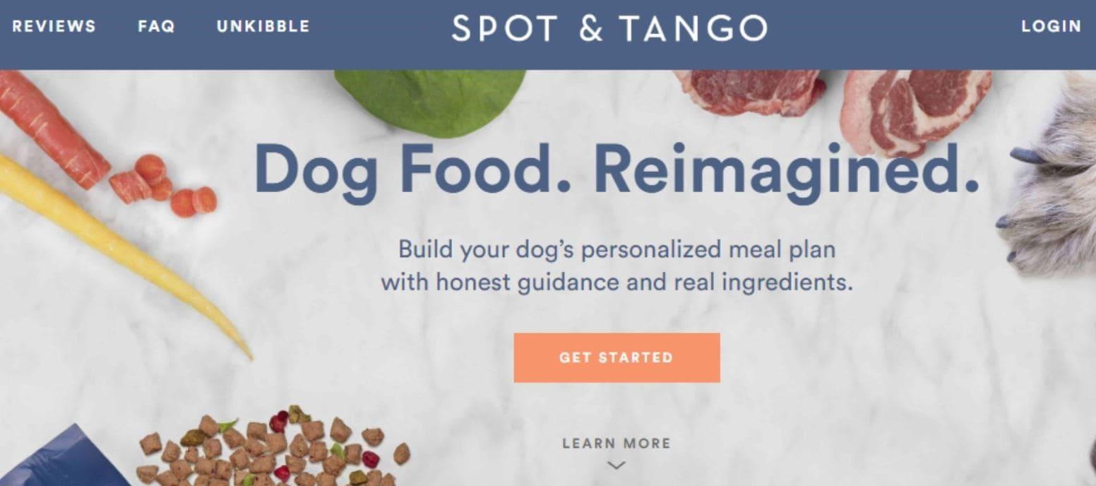 Spot & Tango delivers healthy pet food